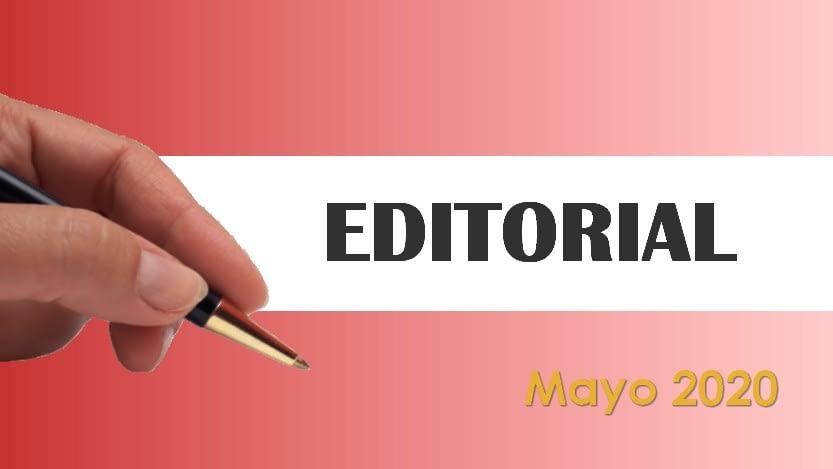 Lee más sobre el artículo Editorial Cavedrepa mayo 2020