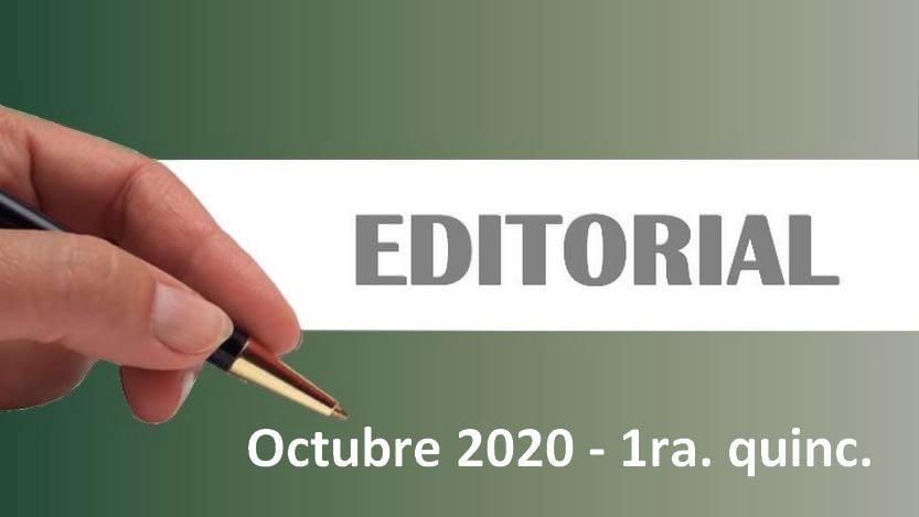 Lee más sobre el artículo Editorial Cavedrepa 1ra. quincena octubre 2020