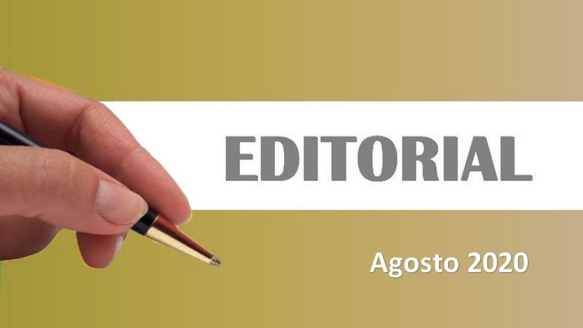 Lee más sobre el artículo Editorial Cavedrepa agosto 2020