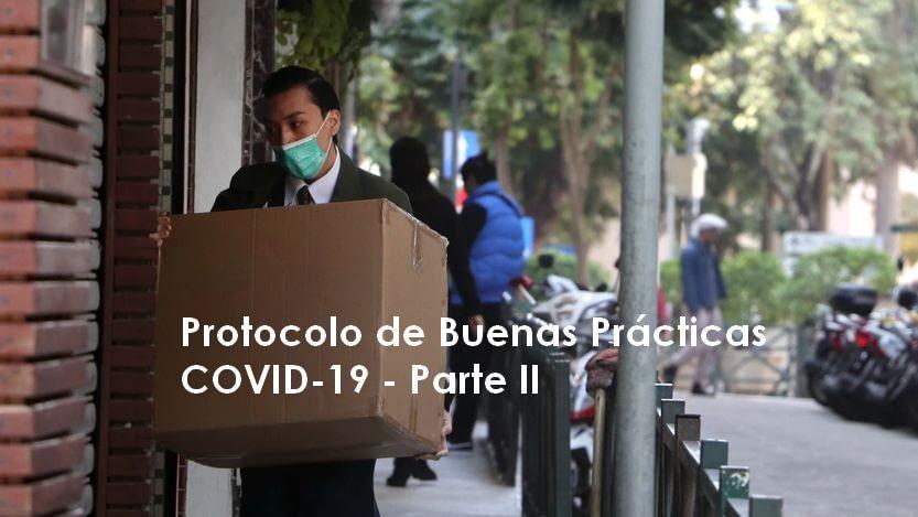 Lee más sobre el artículo Protocolo de buenas prácticas COVID-19 – II Parte