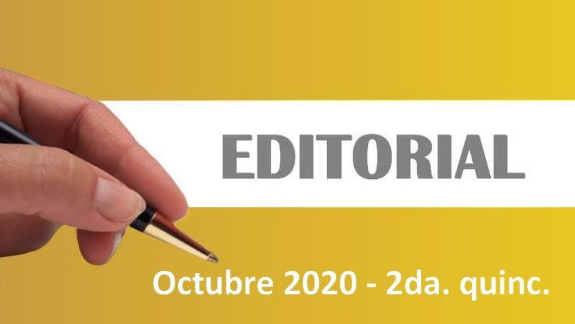 Lee más sobre el artículo Editorial Cavedrepa 2da. quincena octubre 2020