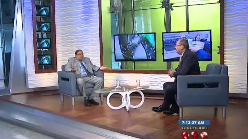 Entrevista el 30/11/2016 en el programa 'La Entrevista' del Noticiero Televen